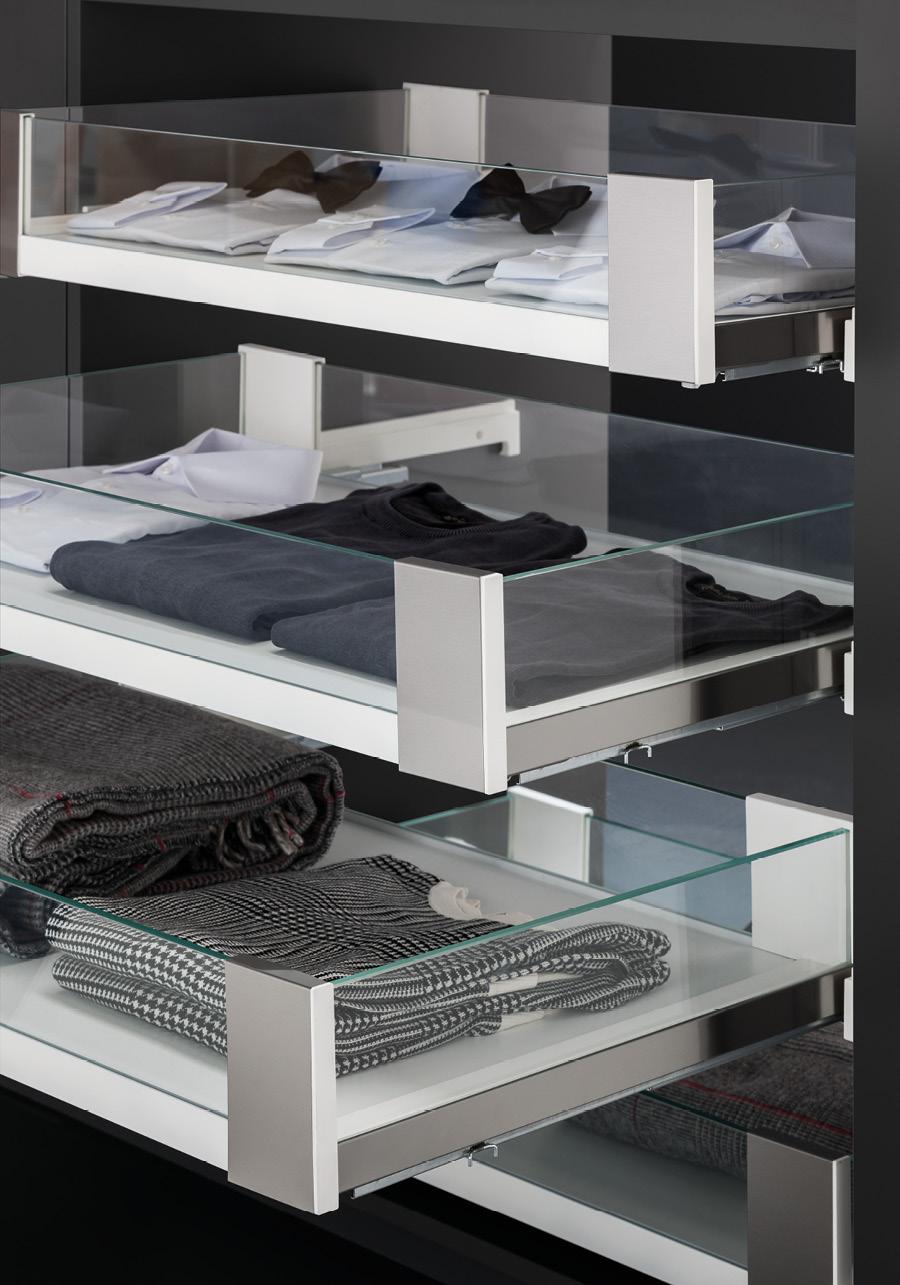 Appendiabiti per cabina armadio vibo accessori in filo - Contenitori per cabina armadio ...