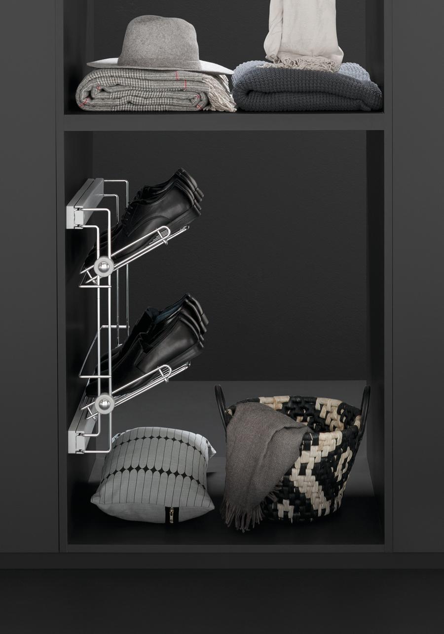 Prestige Side Pull Out Shoe Rack Asl2es Vibo Wire