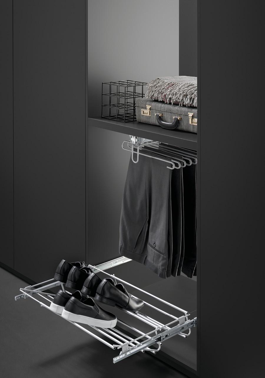 Accessorio scarpiera regolabile ASR56/100CO | VIBO accessori in filo ...