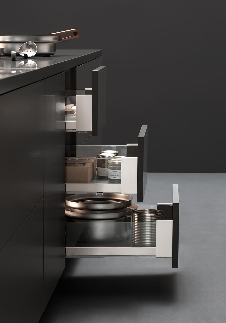 Cassetti per cucina vibo accessori in filo metallico per - Cassetti cucina ...